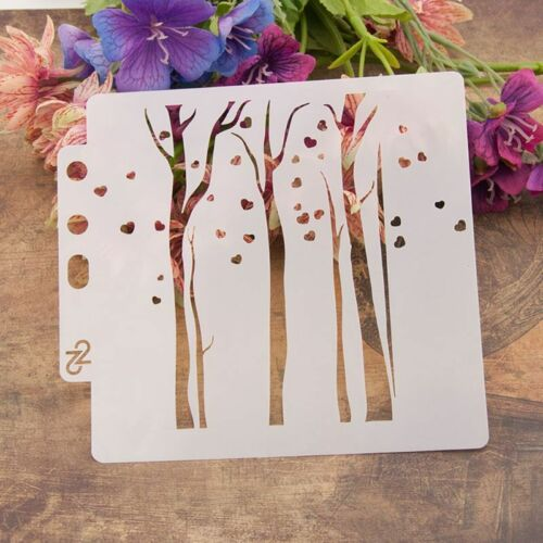 DIY Layering Stencils Template For Walls Painting Scrapbooking Stamping Craft 4