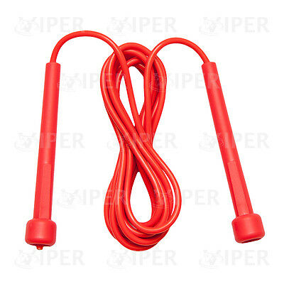 Viper Skipping Rope Nylon Adjustable Jump Boxing Fitness Speed Rope Training