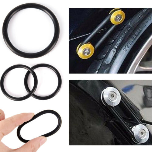 4Pcs Rubber O-Ring FastenerKit High Strength Bumper Quick Release ReplacementGK 2