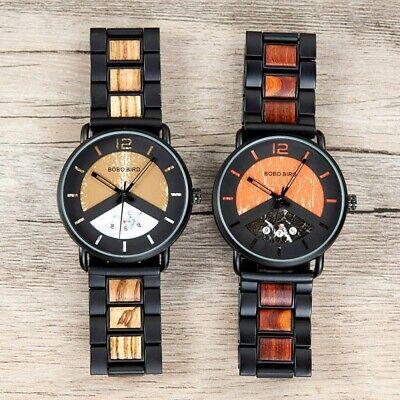 Luxury Design BOBO BIRD - Sports Japanese Quartz Wrist Watch - Men Casual 43mm 4