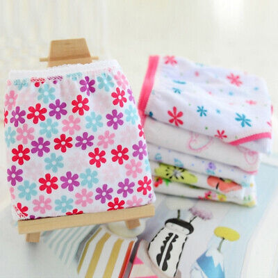 6pcs/Lot Baby Kids Girls Underpants Cotton Panties Child Underwear Short Briefs 3