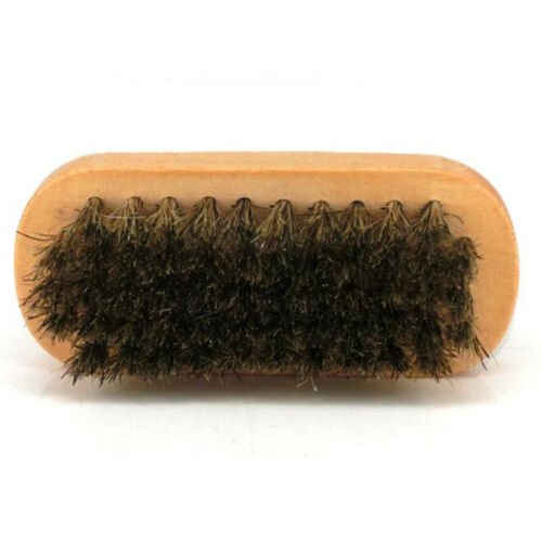 Soft Horsehair Bristles for Boots Furniture BL3 Shoes Leather Shine Brush