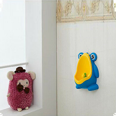 HOT Frog Kids Potty Toilet Training Baby Urinal for Boy Pee Trainer Bathroom New 4