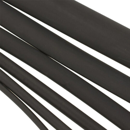 5 Size Black 2:1 Heatshrink Tube Tubing Sleeving Heat Shrink 2/4/6/8/10mm Nice