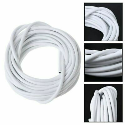 Net Curtain Wire White Window Cord Cable With 16 HOOKS EYES NEW UK 2M, 3M, 4M 2