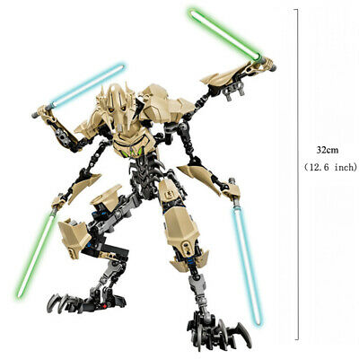 Star Wars Buildable Action Figure Darth Vader Stormtrooper Chewbacca Toy For Kid 11
