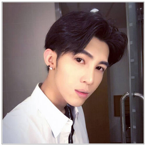 ce6237f60ee Men s Korean Handsome Vogue Black Short Hair Cosplay Party Hair Wig Full  Wigs 5 5 of 8 ...