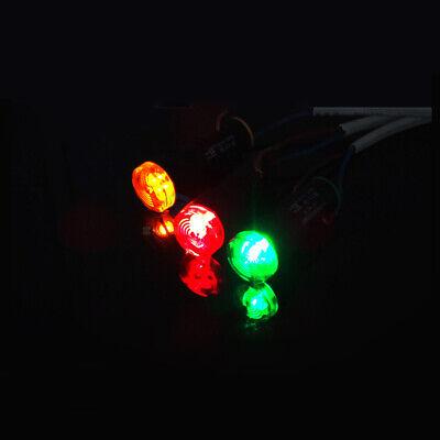 16 22mm LED Flash Warning Indicator Buzzer Alarm Signal Light 12V 24V 110V 220V 2