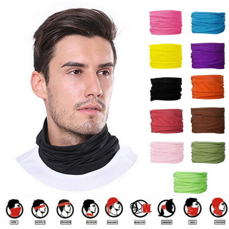 Unisex Face Mask Tube Neck Warmer Head Snood Shawl Scarf Buff Bandana Balaclava*