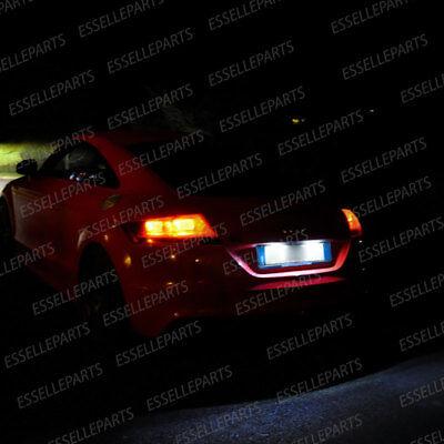 COPPIA PLACCHETTE A LED LUCI TARGA 21  LED AUDI A4 B8 8K CANBUS NO AVARIA