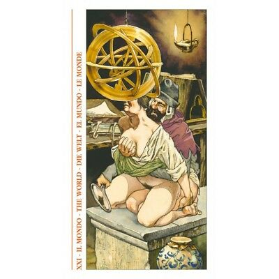 Decameron Tarot Deck Cards Gaudendzi Esoteric Fortune Telling Lo Scarabeo New