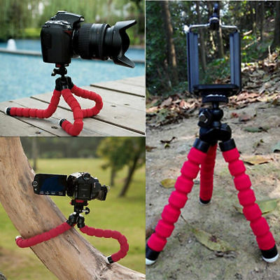 Universal Mini Mobile Phone Tripod Stand Grip Holder Mount For Camera cell phone 11