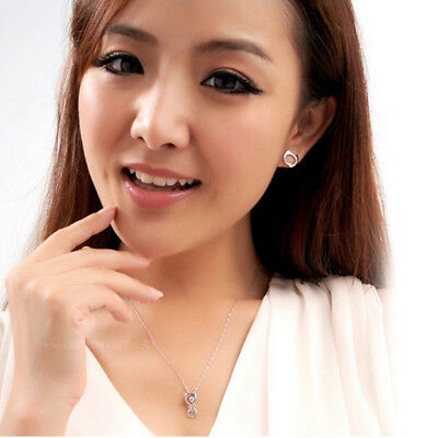 925 Sterling Silver Plated 3 Star Stud Earrings Ear Jewellery Women Small Animal 5