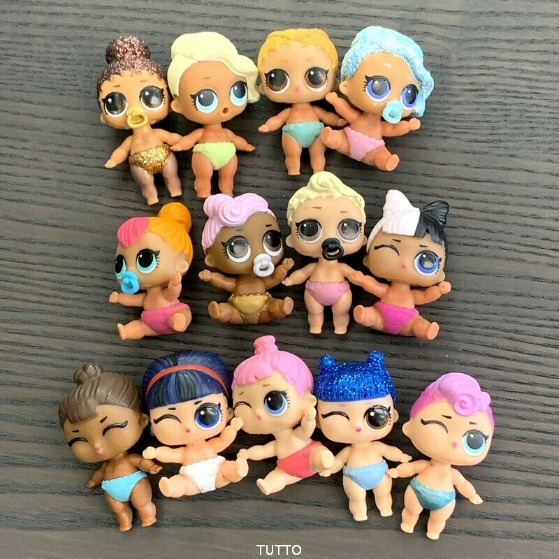 Lot 3 LOL Surprise LiL Sisters glam CLUB L.O.L MISS BABY PUNK dolls SDFR