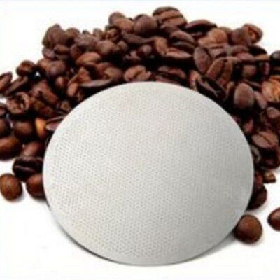 For AeroPress Solid Ultra Fine Stainless Reusable Metal Steel Coffee Filter HOT