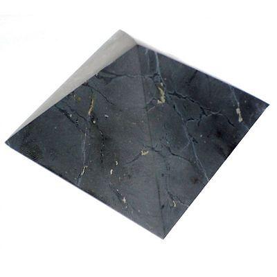 Shungite UNpolished pyramid 30x30 mm Original Healing Stone from Karelia Russia 2