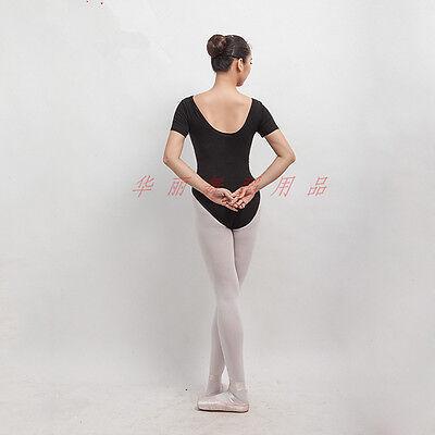 Professional Lady Or Girl  Ballet Dance Cap Sleeve Leotard