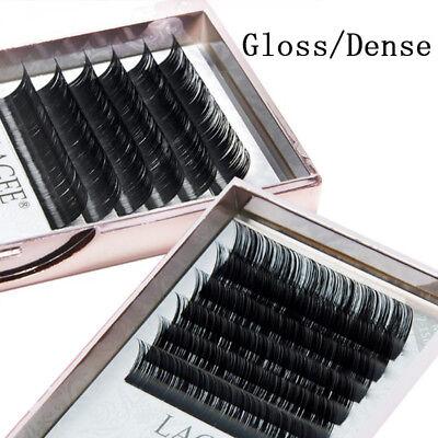 Soft Mink Hair Individual False Eye Lashes Extension B/C/CC L7-15mm Mixed Makeup 2