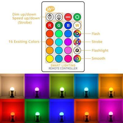 RGB RGBW LED bulb Light Color Change 15W E27 Lamp Bulbs + Remote Controller 4
