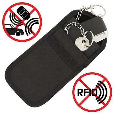 2 X Keyless Defender Fob Signal Blocker Car key Faraday Bag RFID Blocking Pouch 3