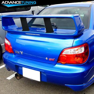 automotive 2x spoiler wing stiffi support stabilizer for subaru impreza wrx sti tz spoilers wings cubber