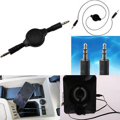 Pro 3.5mm Stereo Audio AUX Klinke Kabel Stecker MP3 Auto Laptop Handy Kopf Nue