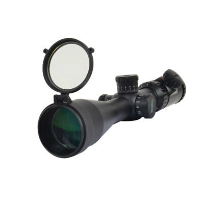 Rifle Scope Quick Flip Spring Up Open Gun Lens Cover See-thru Objective Cap 3