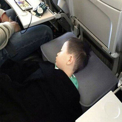 Inflatable Office Travel Footrest Leg Foot Rest  Cushion Pillow Pad Kids Bed 7