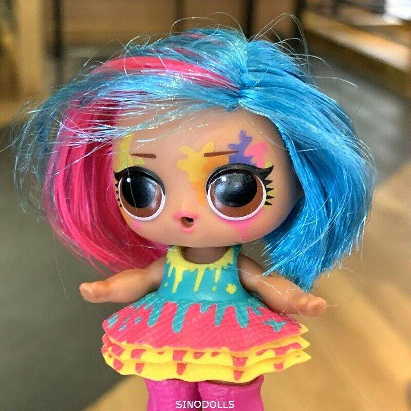 LOL Surprise Poupée HairGoals Splatters Artist Makeover Color Change Doll Jouet