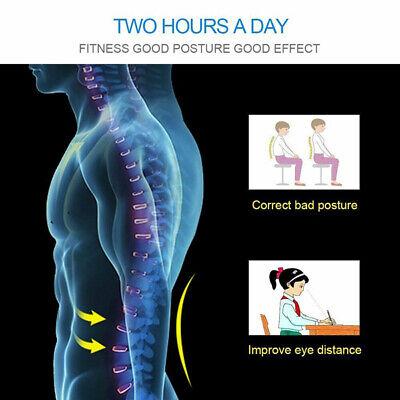 Posture Corrector Brace Women Men Full Back Support Clavicle Shoulder Belt Body 4