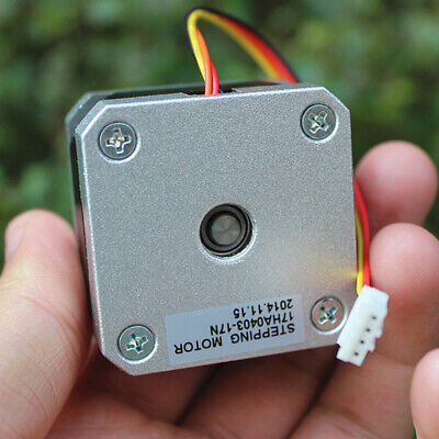 1.8 Degree 42MM NEMA17 2-phase 4-wire Stepper Motor pulley Gear for 3D Printer 5