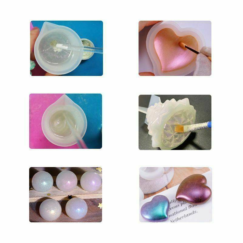 20 Colors Luminous Powder Resin Pigment Dye UV Resin Epoxy DIY Making Jewelry 8
