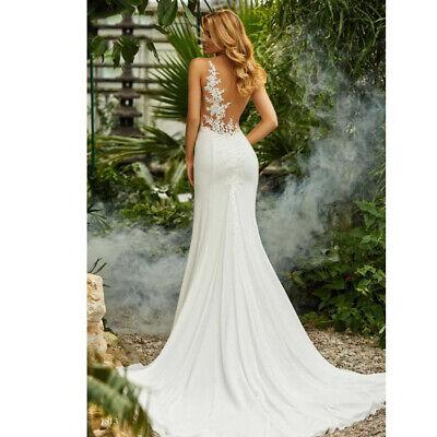 Mermaid Spitze Brautkleid Hochzeitskleid Kleid Braut Babycat collection BC650 34