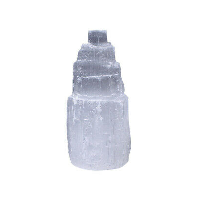 Large SELENITE TOWER Rough  Crystal Morocco Natural Carved Healing Energy 2
