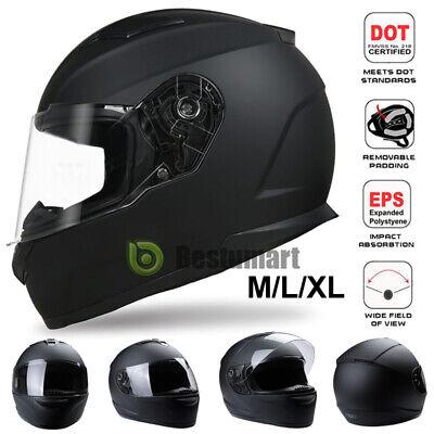 Dot Safety Motorcycle Full Face Helmet Adult Modular Street Bike Racing  M L XL 4