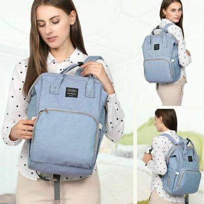 Wickeltasche Babytasche Wickelrucksack Windel Rucksack Pflegetasche Nappy Bag DE 5