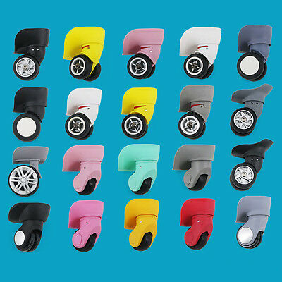 1Pair Replacement Luggage Suitcase Wheels Swivel Universal Wheel For Any Bags 4