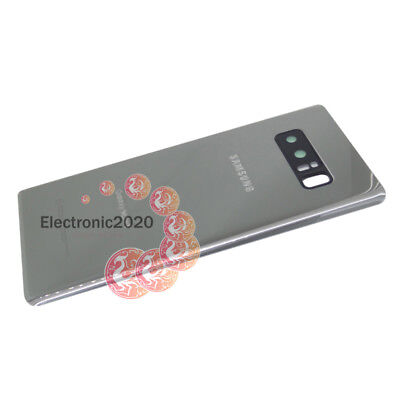 OEM Battery Back Door Glass Cover Camera Lens Cover For Samsung Galaxy Note 8 US 10