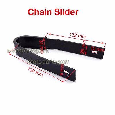 8mm Chain Roller Guard Guide Silder For 50cc-160cc Pit Dirt Bike KLX SSR SDG YCF