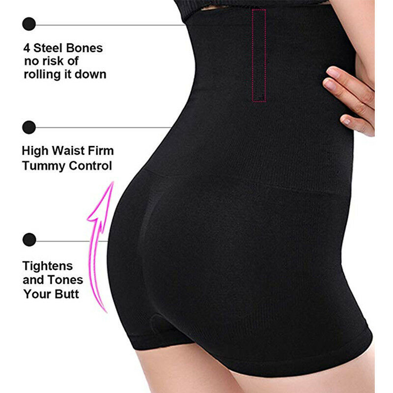 Shapermint Empetua - All Day Every Day High-Waisted Shaper Shorts Tummy Control 5