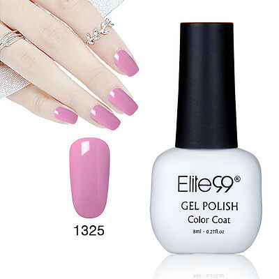 Elite99 Esmalte Semipermanente Brillante de Uñas en Gel UV LED Manicura Soak off 8