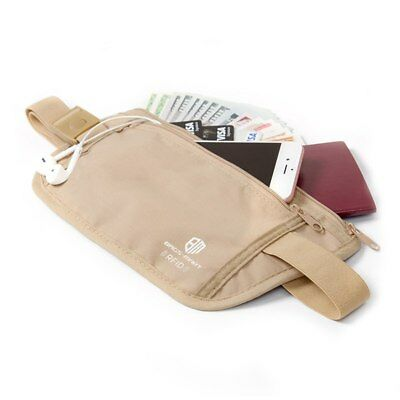 RFID Travel Waist Bum Bag Anti Theft Pouch Belt Passport Holder Safe Strap Sport 2