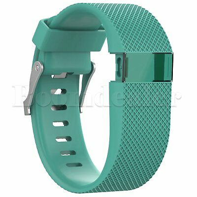 Replacement Silicone Wrist Strap Bracelet For Fitbit Charge HR Activity Tracker 9