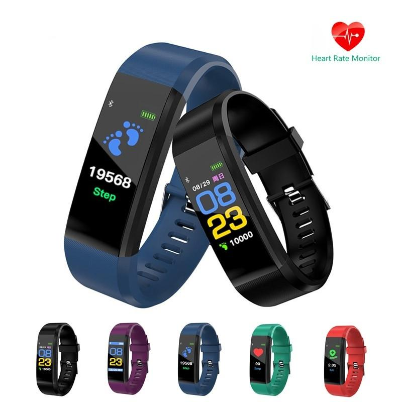 Smart Watch Bracelet Wristband Fitness Heart Rate BP Monitor iPhone Android 2