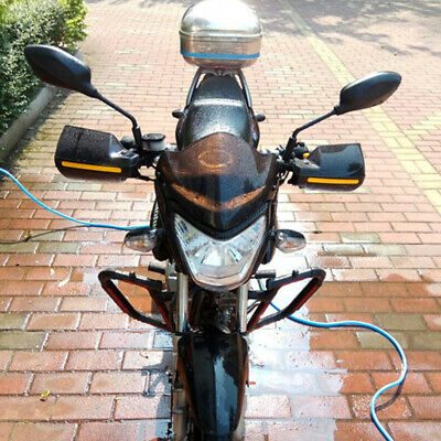 2PCS ATV Motorcycle Handle Bar Hand Guard Protector Fit for 22mm handle bar 2