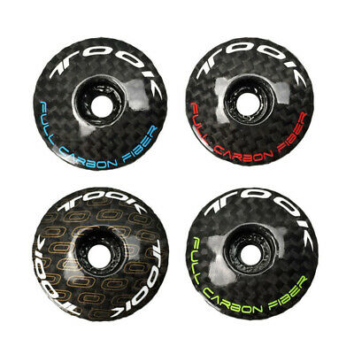 TOOK Carbon Fiber MTB Road Bike Bicycle Headset Stem Top Cap 6.1g Superlight