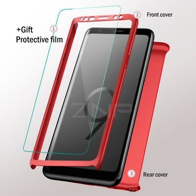 Luxury 360 Degree Full Cover Phone Shockproof Case For Samsung Galaxy S9 S10Plus 3
