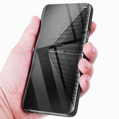 a32681349d4 ... Luxury Touch Mirror Smart Flip Stand Case Cover For Samsung Galaxy S9  Plus S10+ 6