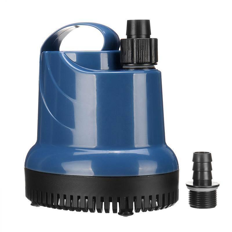 220V Ultra-silencieux Pompe à Eau Submersible 1000/3000L Pompe Aquarium Fontaine 10