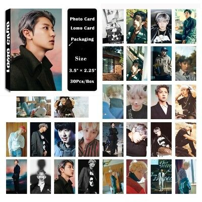 Lot of set cute KPOP EXO Album Personal Collective Photocard Poster Lomo Cards 10